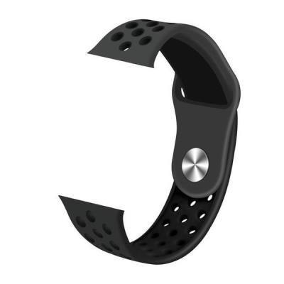 IMMAX řemínek pro chytré hodinky SW10/ SW13/ Apple watch/ černý