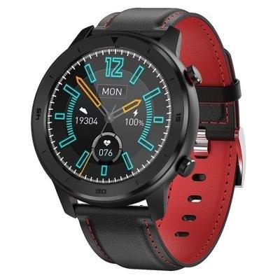 Chytré hodinky IMMAX SW15 černo-červené