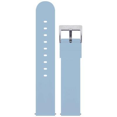 Noerden silikonový řemínek 20mm modrý