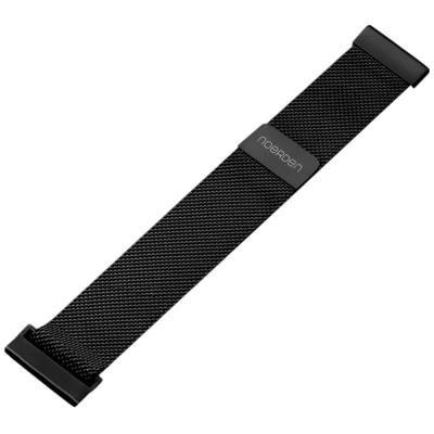 Noerden kovový řemínek 20mm černý