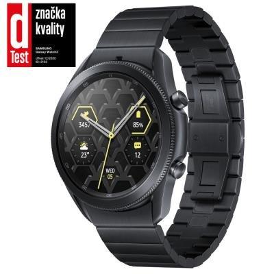 Samsung Galaxy Watch3 45mm Titanium černé