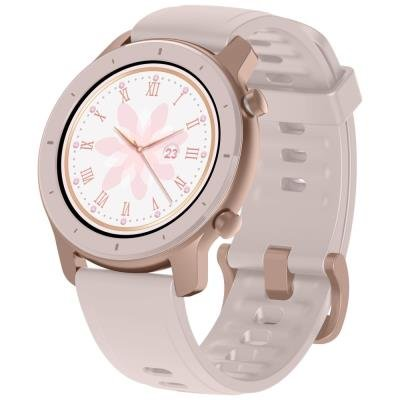 Chytré hodinky Xiaomi Amazfit GTR 42mm růžové