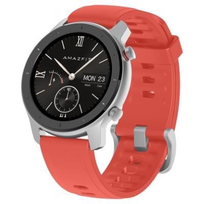Chytré hodinky Xiaomi Amazfit GTR 42mm červené