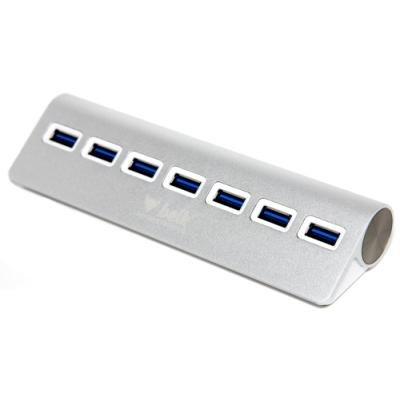 Beik sedmiportový USB 3.0 rozbočovač / hub - hliníkové provedení