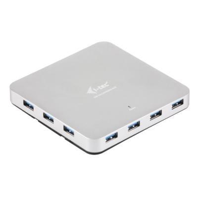 USB Hub I-TEC METAL USB 3.0 10 portů