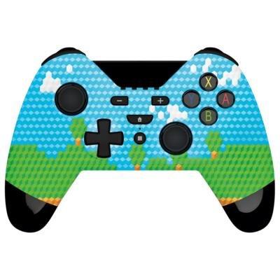 Gioteck WX-4 gamepad modro-zelený