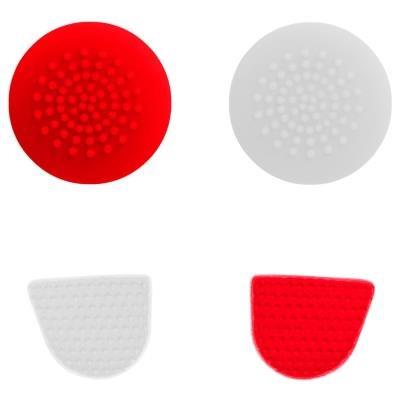Gioteck úchyty pro PS4 červeno-bílé