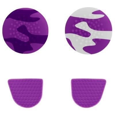 Gioteck úchyty pro PS4 fialové