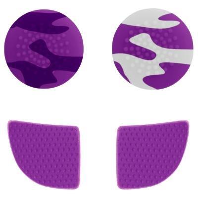 Gioteck úchyty pro Xbox One fialové