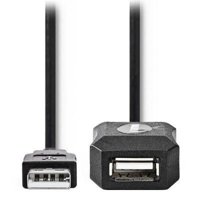Kabel Nedis USB 2.0 typ A (M) - USB A (F) 10m