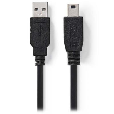 Kabel Nedis USB 2.0 A na USB 2.0 mini B 1m