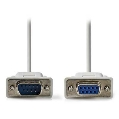 Kabel Nedis D-Sub 9-pin (M) - D-Sub 9-pin (F)