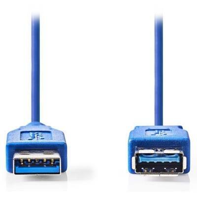 Kabel Nedis USB 3.0 typ A (M) - USB A (F) 2m