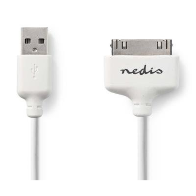 Kabel Nedis iPod 30 pin na USB 2.0 2m