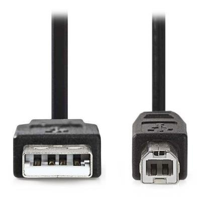 Kabel Nedis USB 2.0 A na USB typ B 3m