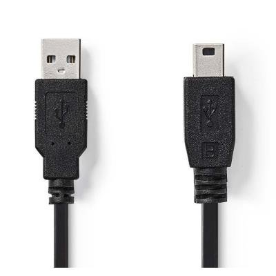 Kabel Nedis USB 2.0 - USB mini B 2m