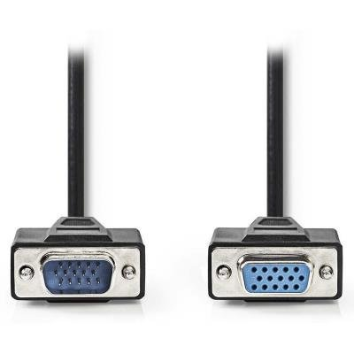 Kabel Nedis VGA (F) - VGA (M) 2m