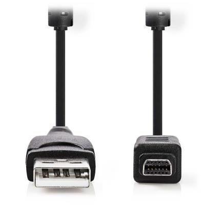 Kabel Nedis 12pin (M) na USB typ A (M) 2m