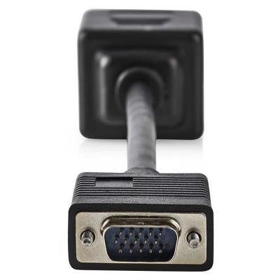 Kabel Nedis VGA rozbočovací 20cm