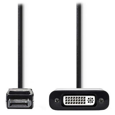 Redukce Nedis DisplayPort na DVI-D 20cm