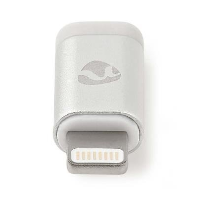 Redukce Nedis Lightning (M) na USB micro B (F)