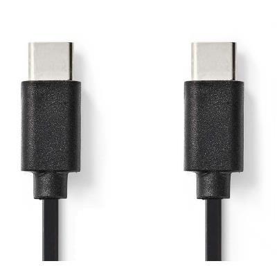 Kabel Nedis USB 2.0 typ C 1m černý