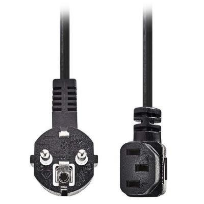 Kabel Nedis 230V 2m černý
