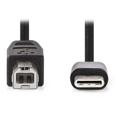 Nedis USB 2.0 USB-C na USB-B 1m