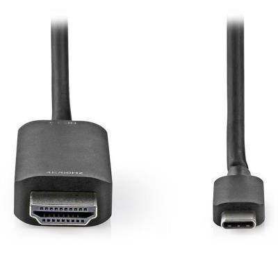 Nedis adaptér USB-C na HDMI 1m