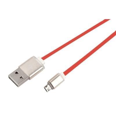 Net-X kabel Micro USB to USB   Nabíjení/Synchronizace, oboustranné konektory - červený