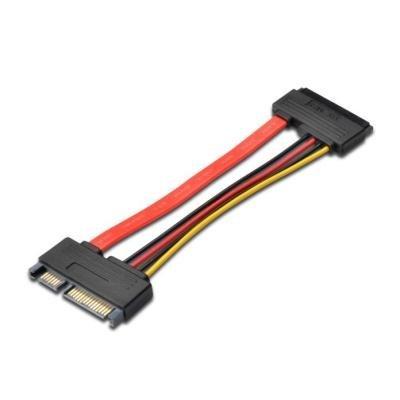 Kabel PremiumCord SATA prodlužovací 15 cm