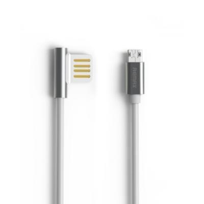 Kabel REMAX USB 2.0 na micro USB 1m stříbrný