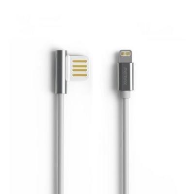 Kabel REMAX USB 2.0 na Lightning 1m stříbrný