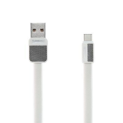 REMAX datový kabel Platinum / RC-044a / USB 2.0 typ A samec na USB Type-C / 1m / white