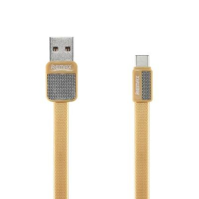 Kabel REMAX USB 2.0 na USB typ C 1m zlatý