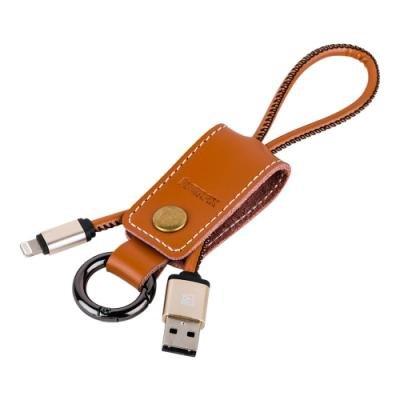 Kabel REMAX USB 2.0 na Lightning 32cm hnědý