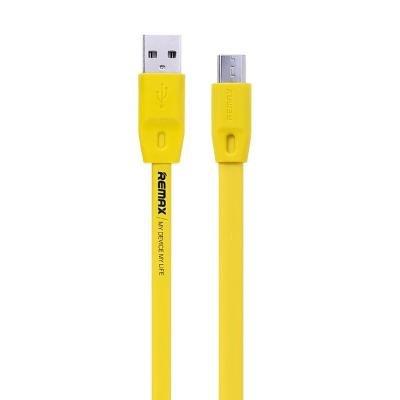 Kabel REMAX USB 2.0 na micro USB 2m žlutý