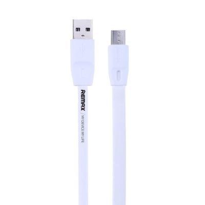 Kabel REMAX USB 2.0 na micro USB 2m bílý