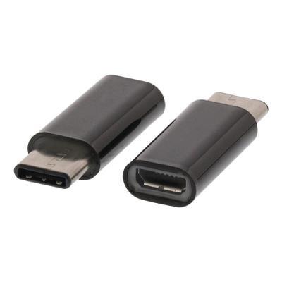 VALUELINE adaptér (redukce) USB 2.0/ USB Micro-B zásuvka – USB 3.1 (C) zástrčka/ černý