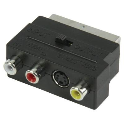 Adaptér Valueline SCART na S-Video, 3x RCA