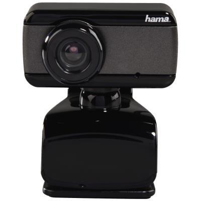 HAMA webkamera Speak2/ rozlišení 640x480/ 0,3 Mpx/ 30 snímků za sekundu/ mikrofon/ USB/ černá