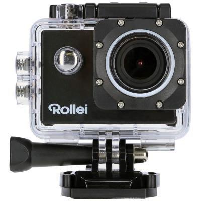 POŠKOZENÝ OBAL - Rollei ActionCam 540/ 8Mpx/ 4K/30fps/ 1080/60 fps/ LCD/ Wi-Fi + Držák do vody