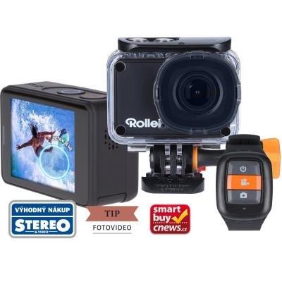 POUŽITÉ - Rollei ActionCam 560 Touch/ 12Mpx/ 4K/60fps/ 1080/120 fps + náhradní baterie