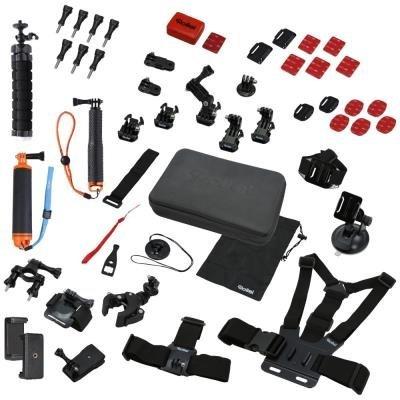 Rollei XL sada příslušenství pro outdoor/ 49ks pro kamery ROLLEI a GoPro