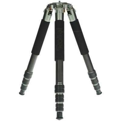 Rollei Stativ Lion Rock 30/ Zátěž 30kg/ Vytažený 146,8 cm/ Karbon/ Černý