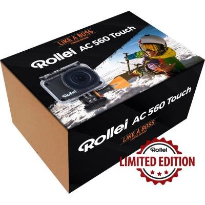 Kamera Rollei ActionCam 560 Touch - Like a boss