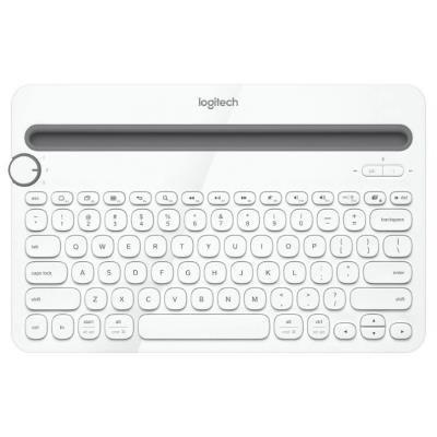 LOGITECH klávesnice K480/ Bezdrátová/ Bluetooth/ US (americká)/ bílá
