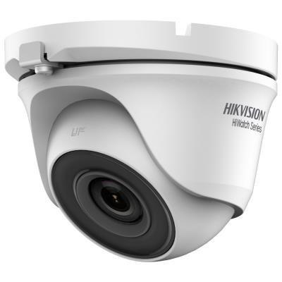 HIKVISION HiWatch turbo HD kamera HWT-T140-M/ Dome/ rozlišení 4Mpix/ objektiv 2,8 mm/ krytí IP66/ kov