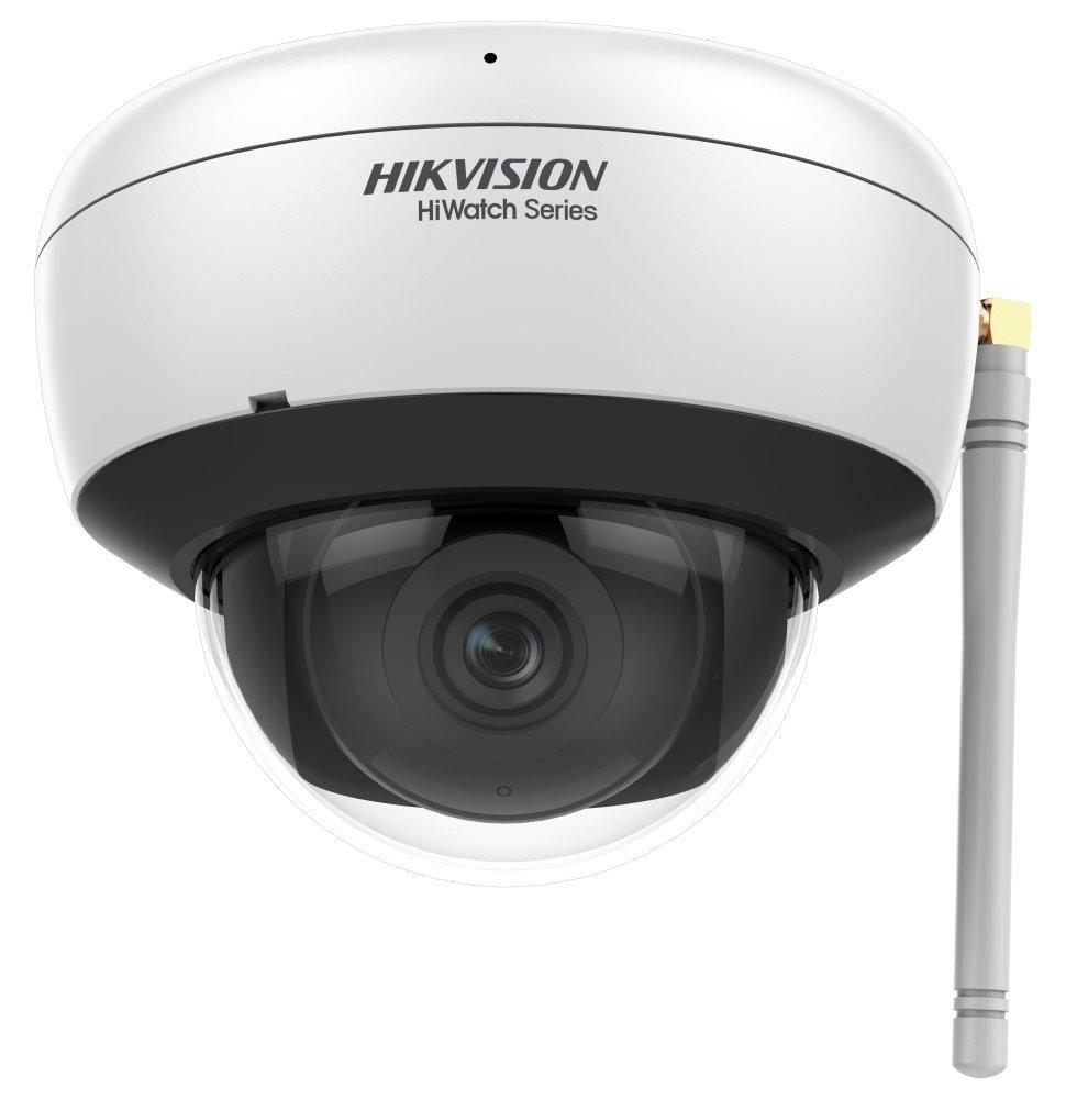 HIKVISION HiWatch IP kamera HWI-D220H-D/W(EU)/ Dome/ 2Mpix/ objektiv 2,8 mm/ H.265/ krytí IP66/ IR až 30 m/ WiFi/ plast
