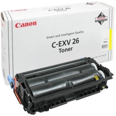 Toner Canon C-EXV26Y žlutý